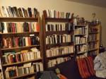 Quelques bibliothèques dans mon chez moi.