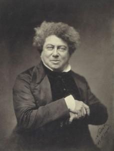 Nadar - Alexander Dumas père (1802-1870)
